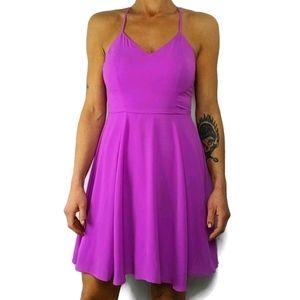 Express Dress Size 4 Tank Flowing Purple
